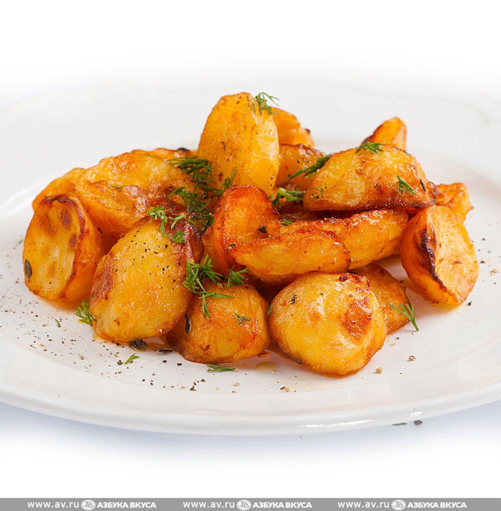 Банкетное меню: Картофель по деревенски 150гр в Смак-нк.рф