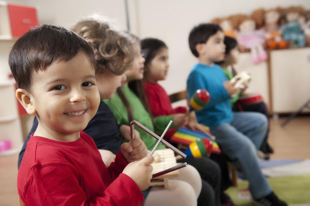 Дошкольное образование детей: Обучение музыке детей в Нолики, школа эстетического воспитания