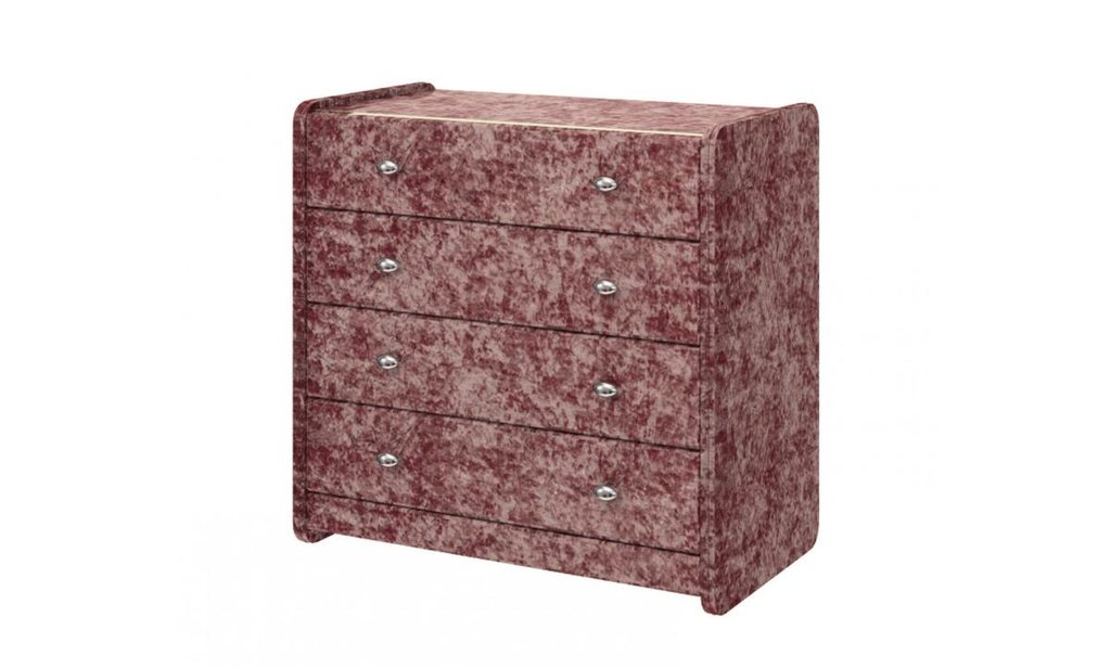 Комоды: Комод №1 из экокожи, 4 ящика в Уютный дом