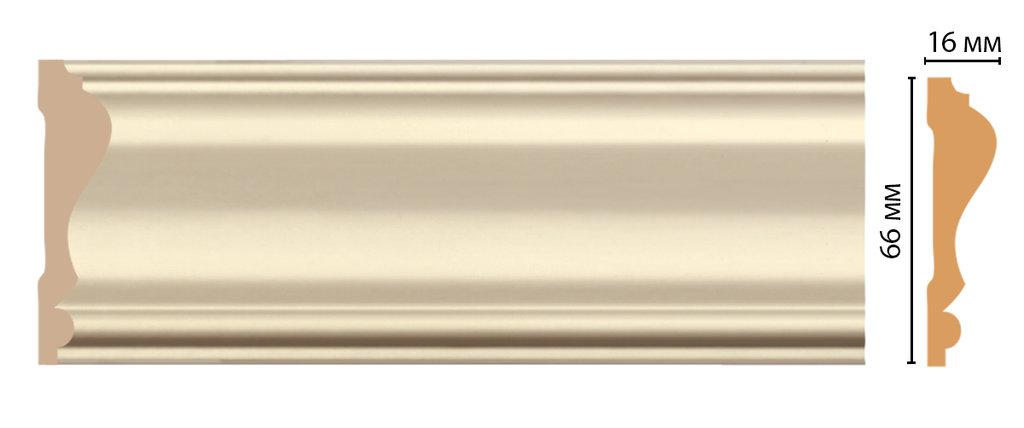 Молдинги: Цветной молдинг DECOMASTER D022-61 (66*16*2400) в Мир Потолков