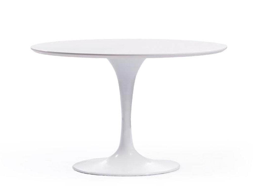 Столы обеденные: Стол обеденный Априори T круглый 100 см в Актуальный дизайн