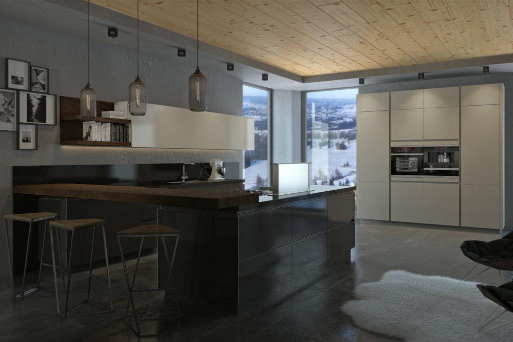 Кухни: Кухня Интегро в Стильная мебель