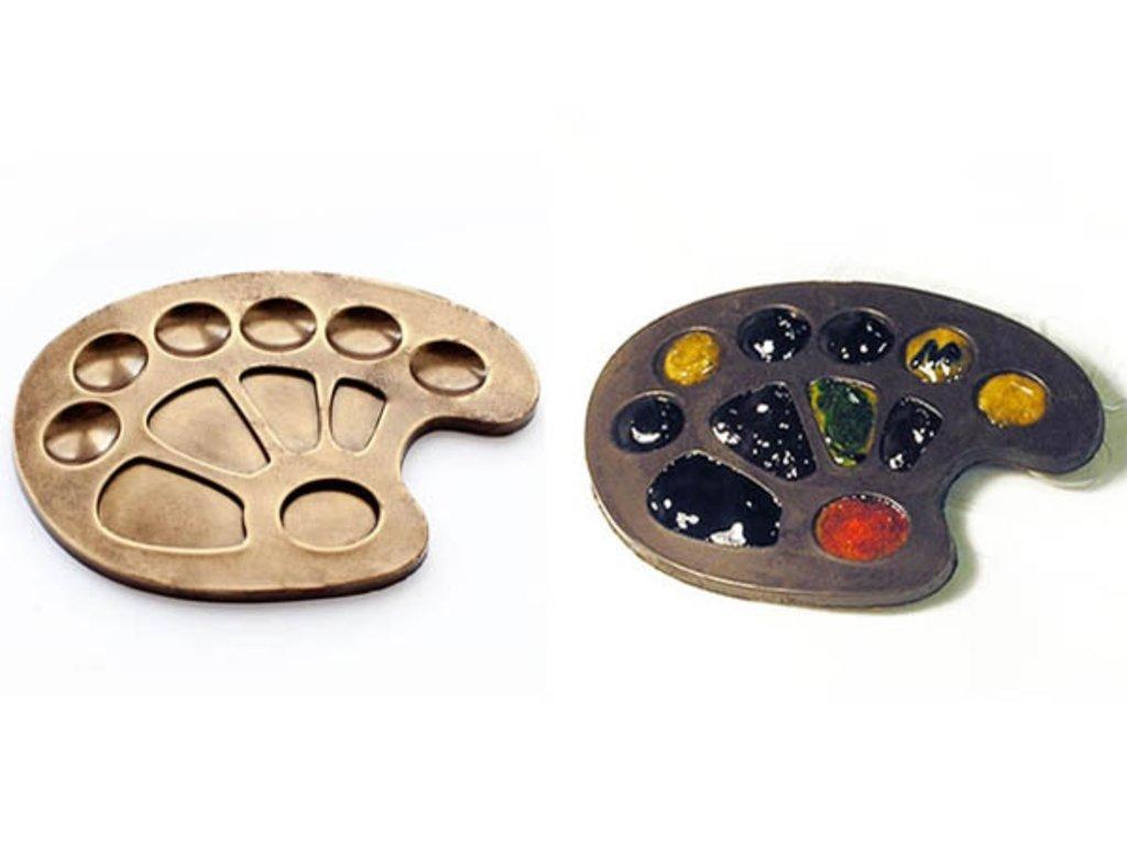 Пластиковые формы для шоколада: Форма для шоколада Палитра в ТортExpress