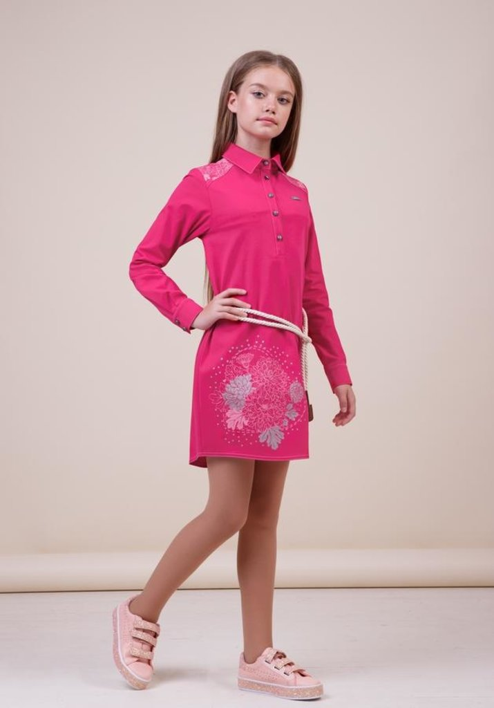 Одежда для девочек: Платье для девочки 38-8022-1 в Детский универмаг