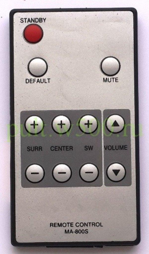 BBK: Пульт BBK MA-800S (акустика) RCM в A-Центр Пульты ДУ