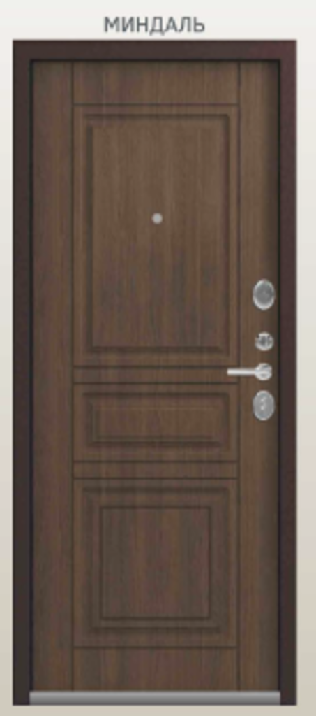 Двери Центурион: Центурион LUX-4 Медный муар + Вайльд Миндаль в Модуль Плюс