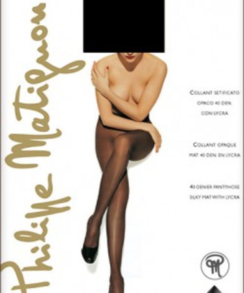 Колготки: Матовые колготки Philippe Matignon GALERIE 40 в Sesso