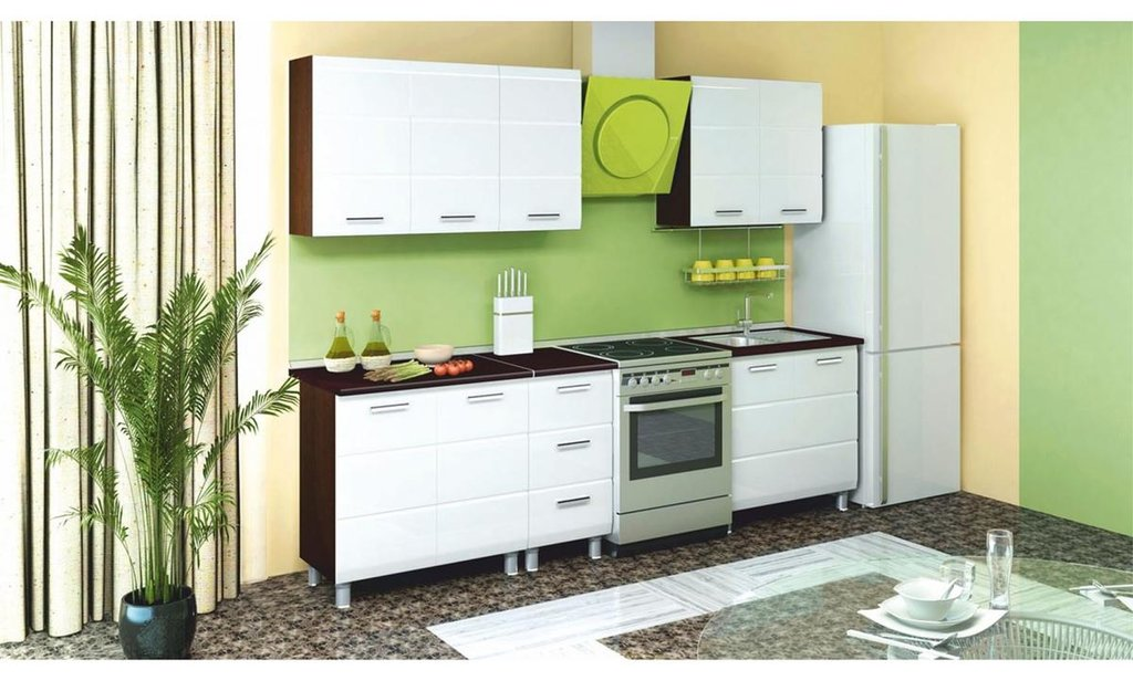 Кухонный гарнитур Сириус: Шкаф-стол рабочий Сириус, 2-дверный в Уютный дом