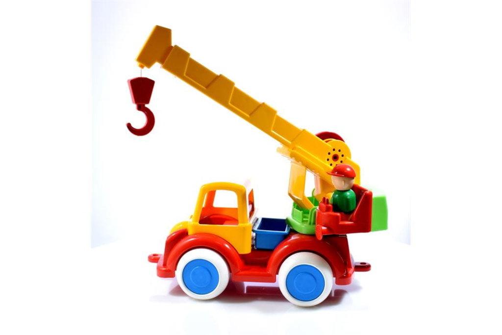 Игрушки для мальчиков: Автокран пк Форма в Игрушки Сити