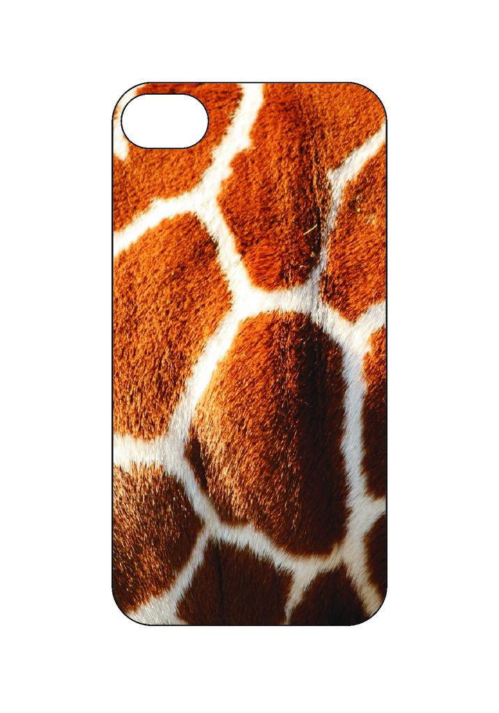 Выбери готовый дизайн для своей модели телефона: Жирафик в NeoPlastic