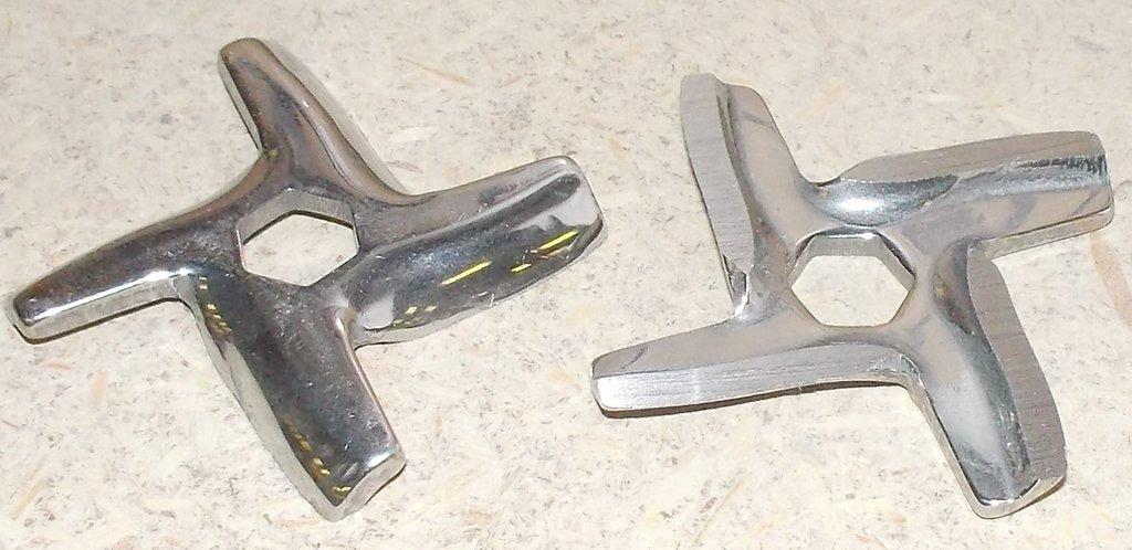 Запчасти для электромясорубок: Нож для мясорубки MOULINEX-шестигр. (MS-0926063), MGR102UN, MS002, N436 , MS026, 9999990050, MM0104W в АНС ПРОЕКТ, ООО, Сервисный центр