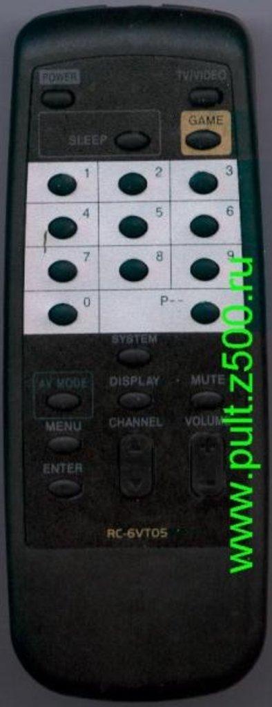 AIWA: Пульт AIWA RC-6VT05 (TV) HUAYU в A-Центр Пульты ДУ