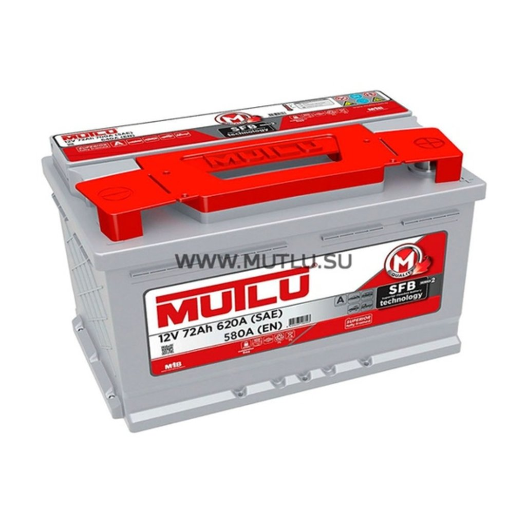 MUTLU: Аккумулятор MUTLU 6CT - 72 в БазаАКБ