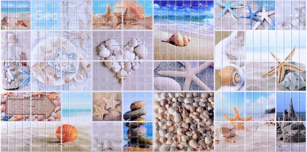Панели ПВХ: Мозаика Морской берег в Мир Потолков