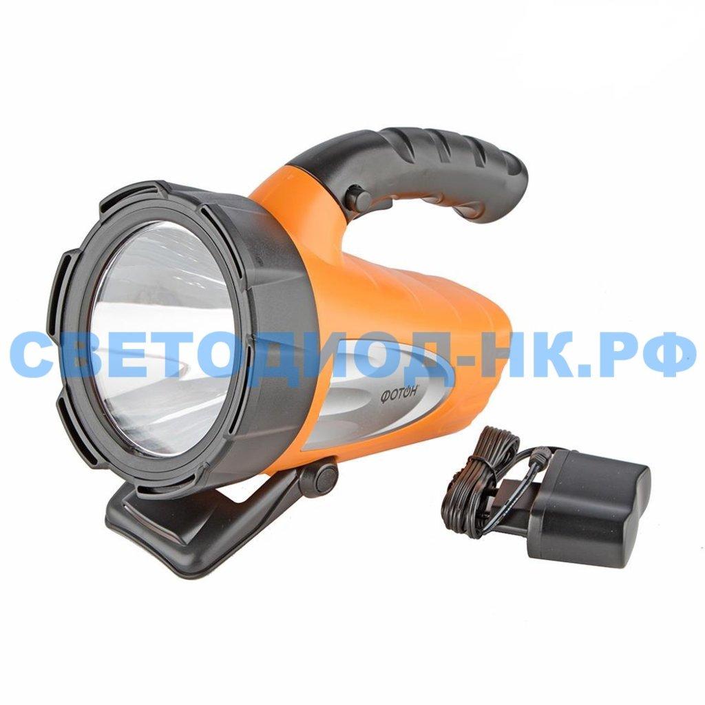 Прожекторные фонари: ФОНАРЬ ФОТОН АККУМ. РB-7500, 5W. LED в СВЕТОВОД