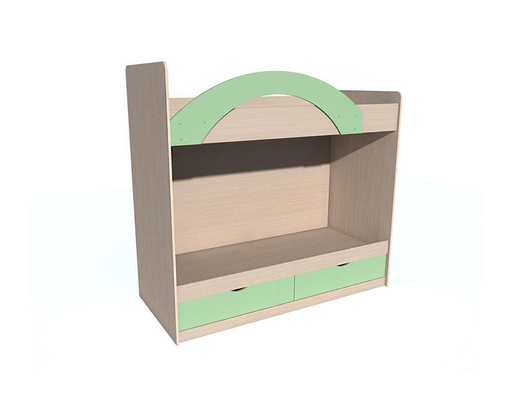 Детские и подростковые кровати: Кровать ИЧП 15-02 М3 М Рико-М (800x1900, усилен. настил) в Стильная мебель