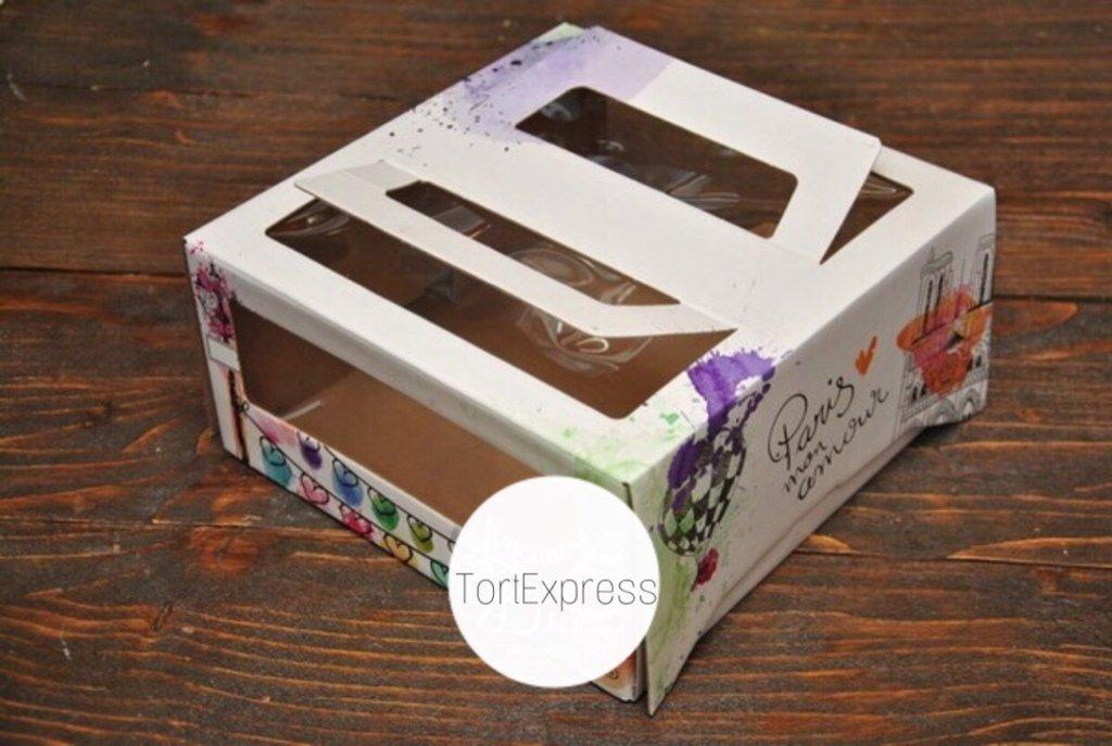 Коробки для тортов: Коробка Наполеон 180*180*100мм в ТортExpress