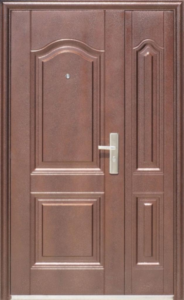 Двери Китай: Дверь мет. К600 Двустворчатая в Модуль Плюс