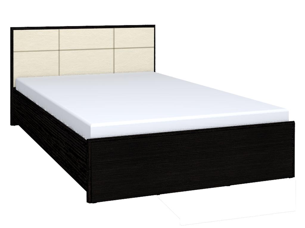 Кровати: Кровать Люкс АМЕЛИ 201 (1600, орт. осн. дерево) в Стильная мебель