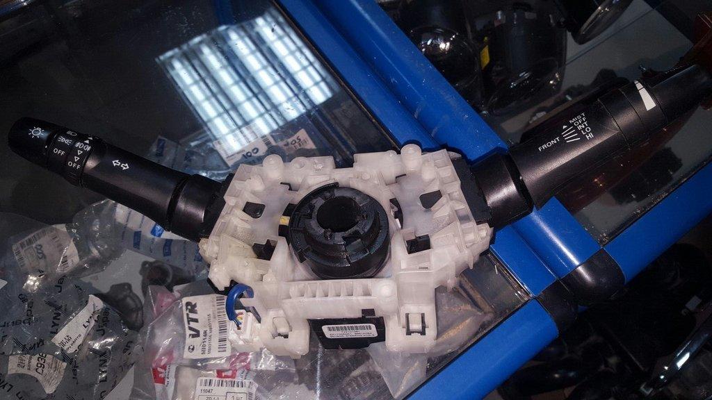 Электрика: Под рулевой переключатель Lancer X + шлейф AIRBAG в VINcode