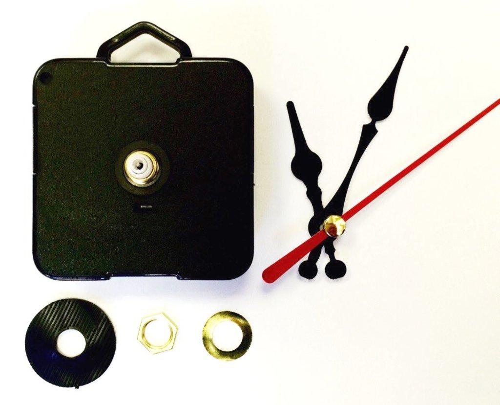 Заготовки для часов: Часовой механизм 6262 6/12 с пластиковой петлей  плавный ход в Шедевр, художественный салон
