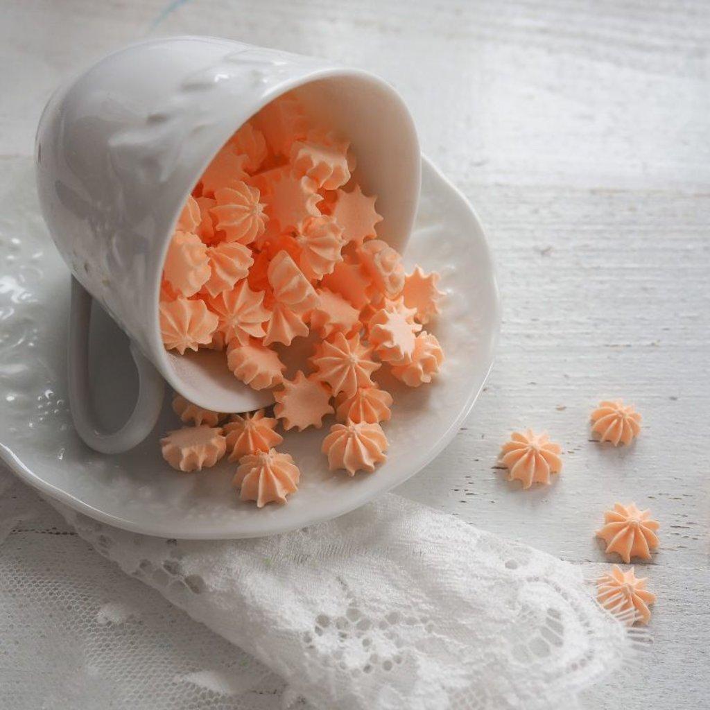Украшения, декор: Посыпка мини-безе Персиковая, 250 гр в ТортExpress