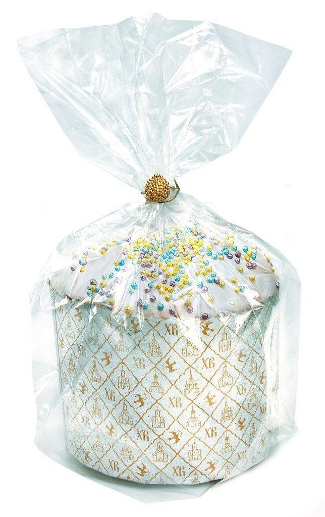 Упаковка: Прозрачные пакеты для куличей  110*215*280мм в ТортExpress