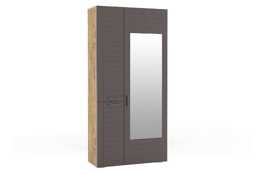 Шкафы, общие: Шкаф для одежды LIVORNO НМ 013.36 Зеркало в Стильная мебель