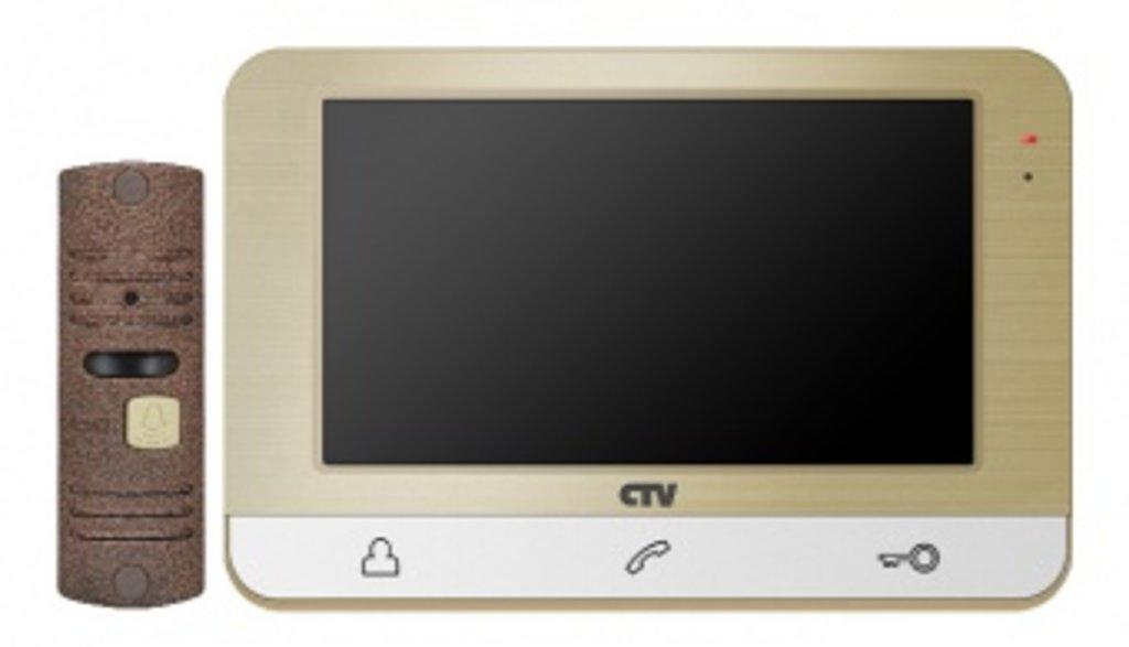 Комплект: Комплект видеодомофона CTV-DP1703 в Микровидео