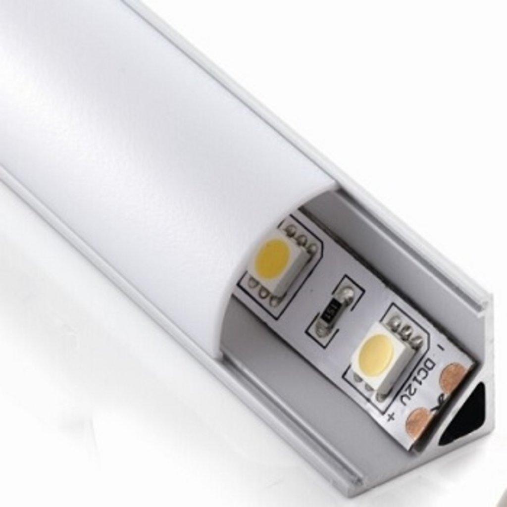 Светодиодные светильники: Рассеиватель молочный ALPA-011 в ВДМ, Все для мебели