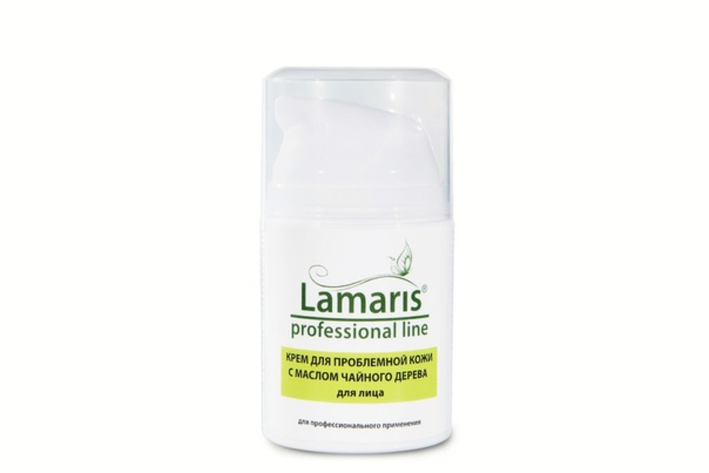 Кремы для лица: Крем для проблемной кожи с маслом чайного дерева для лица ( ANTI-ACNE) Lamaris в Профессиональная косметика LAMARIS в Тюмени