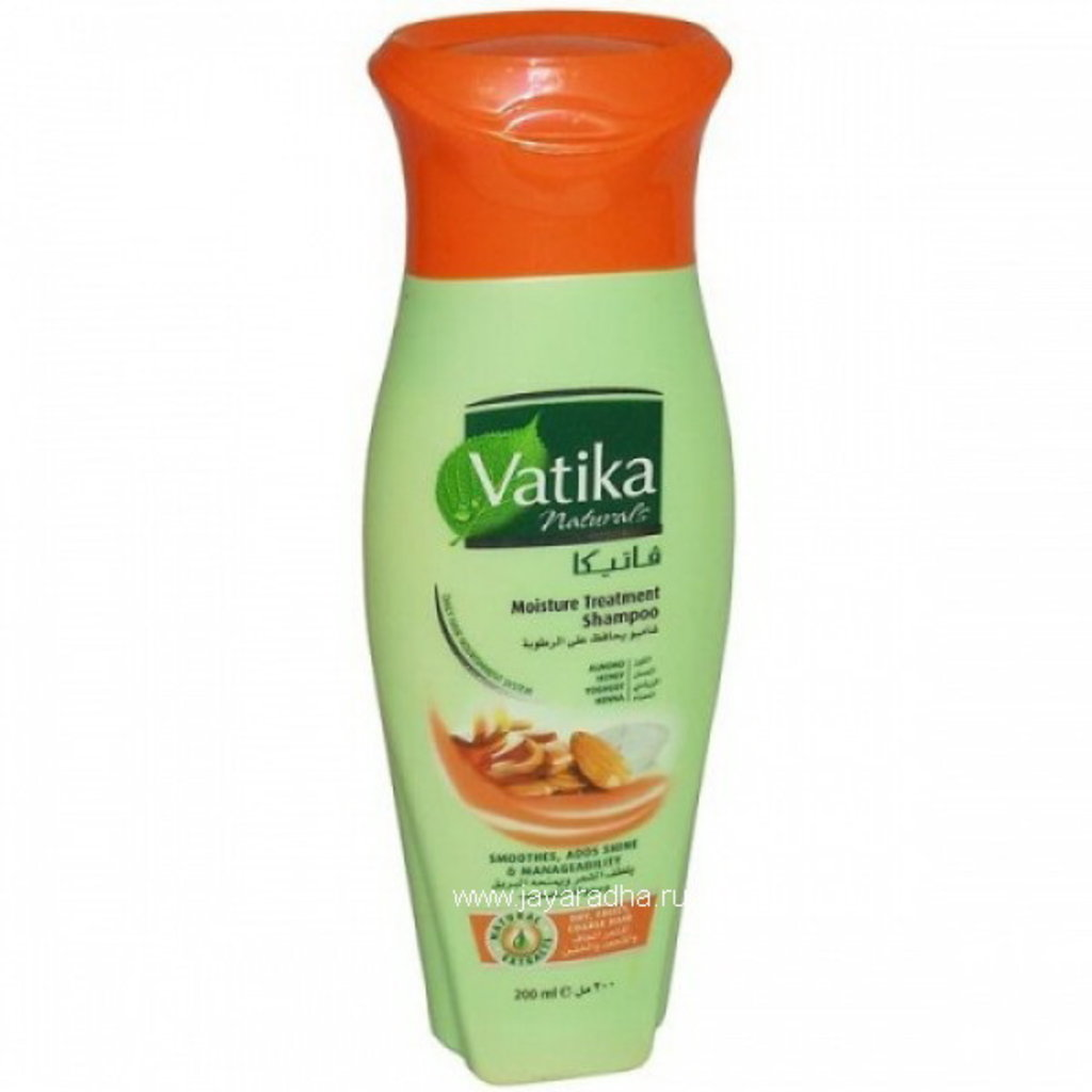 Средства для волос: Увлажняющий шампунь Vatika Naturals Moisture Treatment в Шамбала, индийская лавка