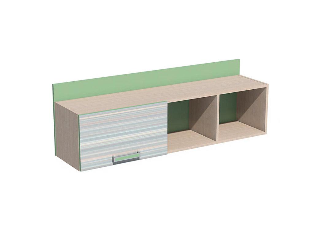Полки детские: Полка с дверкой НМ 011.38-01 М Рико-М в Стильная мебель