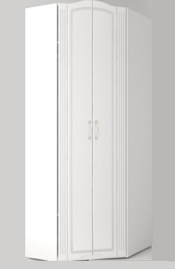Шкафы для одежды и белья: Шкаф угловой (26) Виктория в Стильная мебель