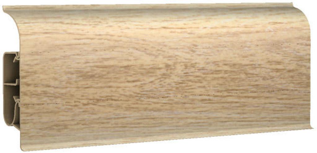 Плинтуса напольные: Плинтус напольный 85 полуматовый 8546 дуб голландский в Мир Потолков