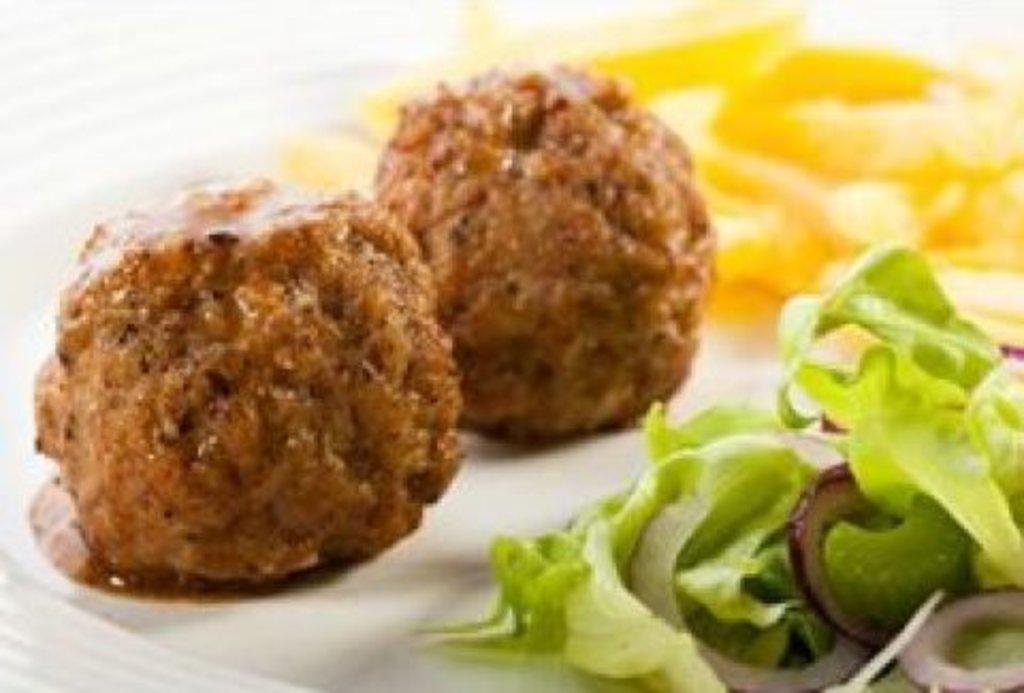 Четверг: Мясные шарики с овощами + гарнир (280 г) в Смак-нк.рф