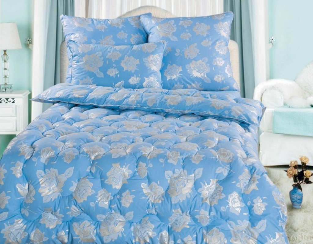 Одеяла Евро: Одеяло Евро 200*220 (50% пух) в Дрёма