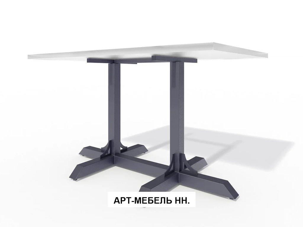 Подстолья для столов.: Подстолье 0.11 (чёрный) в АРТ-МЕБЕЛЬ НН