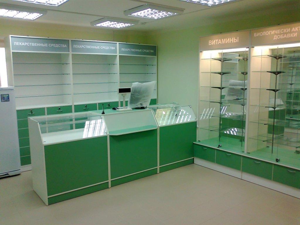 Мебель для аптеки: Мебель для небольших аптек в Студия Мебели