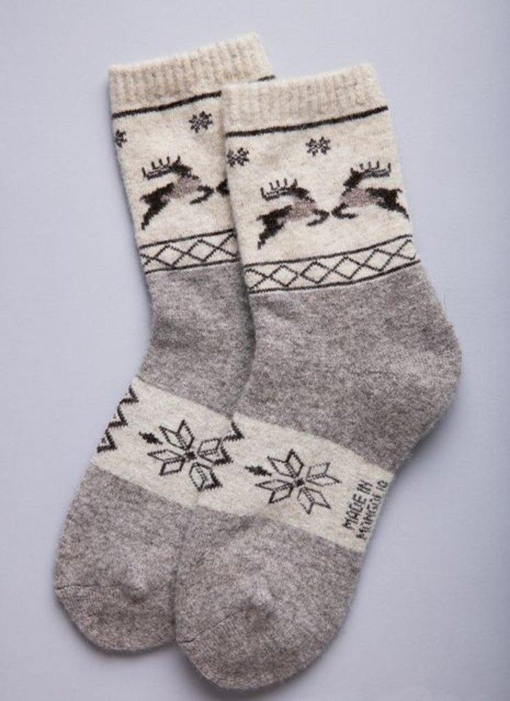 """Чулочно-носочные изделия: Носки из 100% шерсти """"ORGANIC"""" в Сельский магазин"""