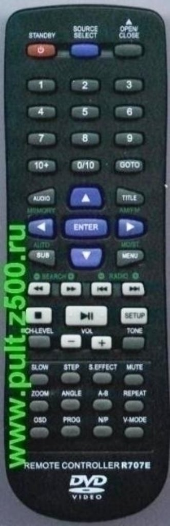 SITRONICS: Пульт SITRONICS R707E ( DVD театр ) оригинал в A-Центр Пульты ДУ