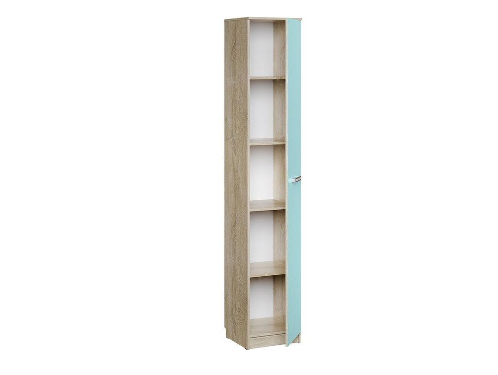 Детские шкафы и стеллажи: Шкаф для белья НМ 013.01-02 Акварель в Стильная мебель