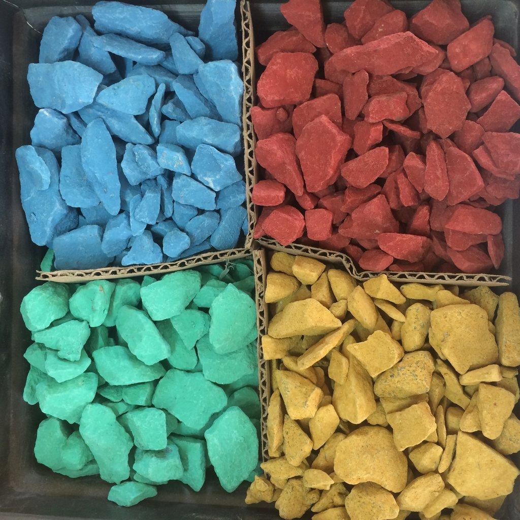 Галька, щебень: Доломитовый щебень фр.5-20мм зеленый в 100 пудов