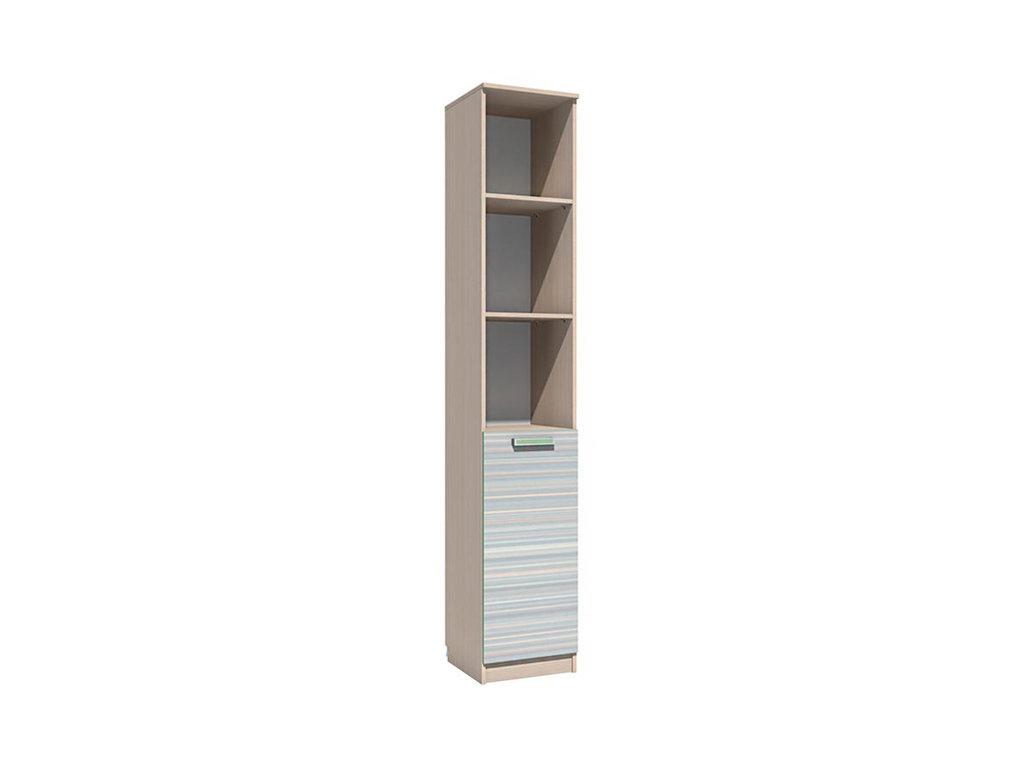 Детские шкафы и стеллажи: Шкаф НМ 013.03-01 М Рико-М в Стильная мебель