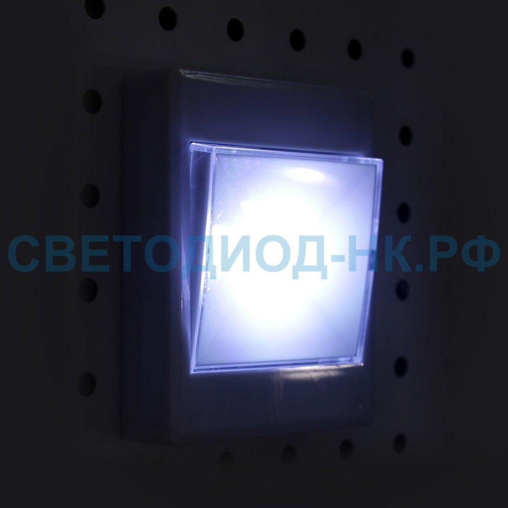 Светодиодные фонари, пушлайты: Светильник пушлайт СТАРТ PL-1LED-COB белый в СВЕТОВОД