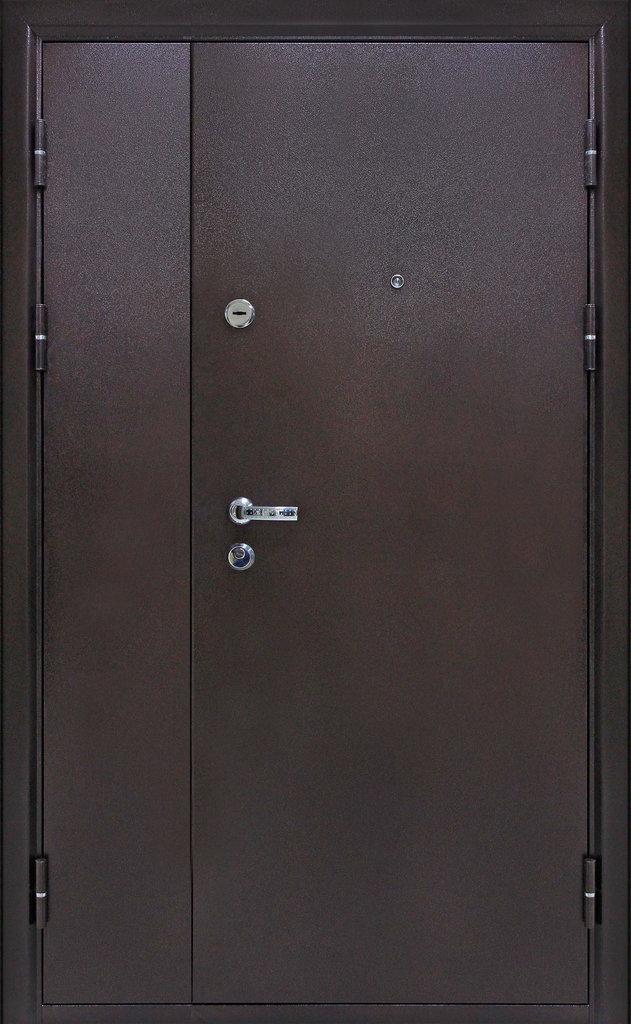 Входные (строй)двери до 70мм: Входная дверь  Йошкар метал-метал 1200мм в STEKLOMASTER
