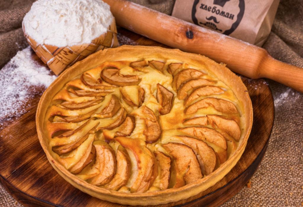 Сладкие пироги: Киш с яблоками в Хлебоман