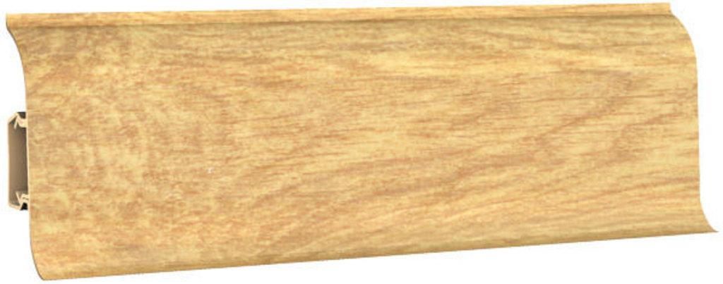 Плинтуса напольные: Плинтус напольный 60 ДП МК полуматовый 6057 дуб натуральный в Мир Потолков