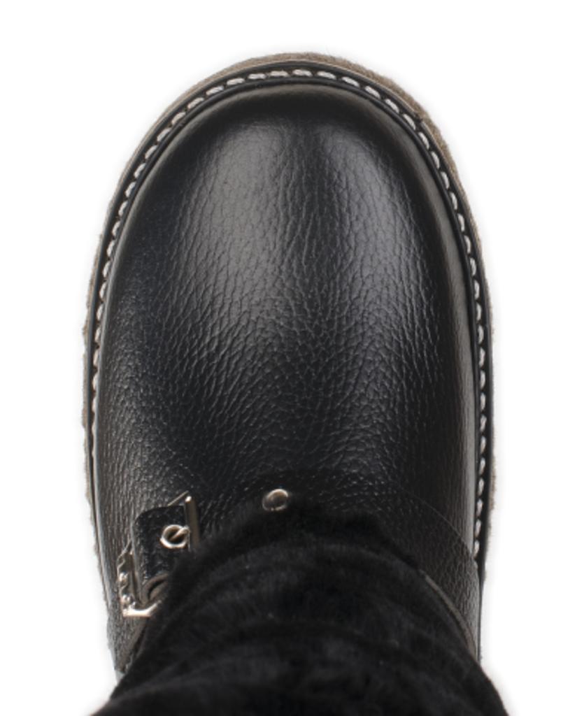 Обувь подростковая и детская: Унты подростковые черные мутон, на войлочной подошве в Сельский магазин