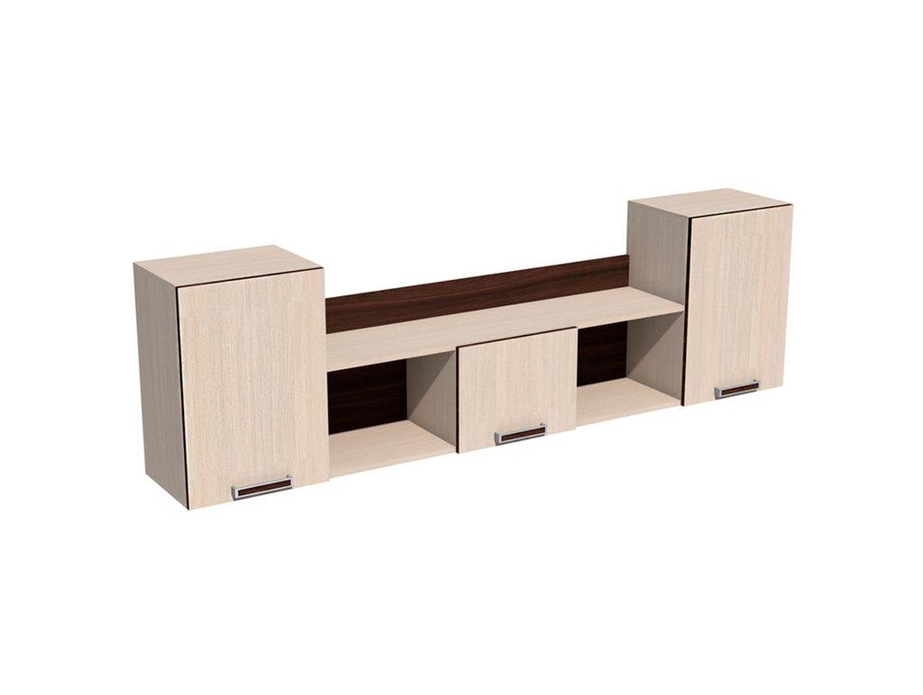 Полки детские: Полка НМ 011.39-01 Рико в Стильная мебель